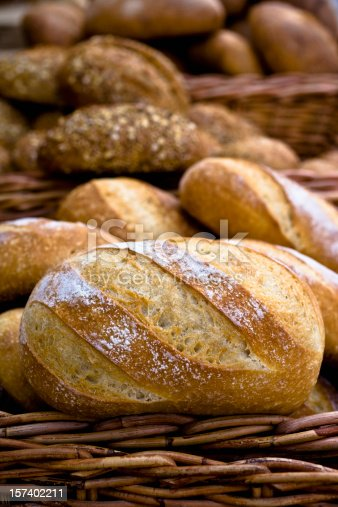 Bread at the farmers market.