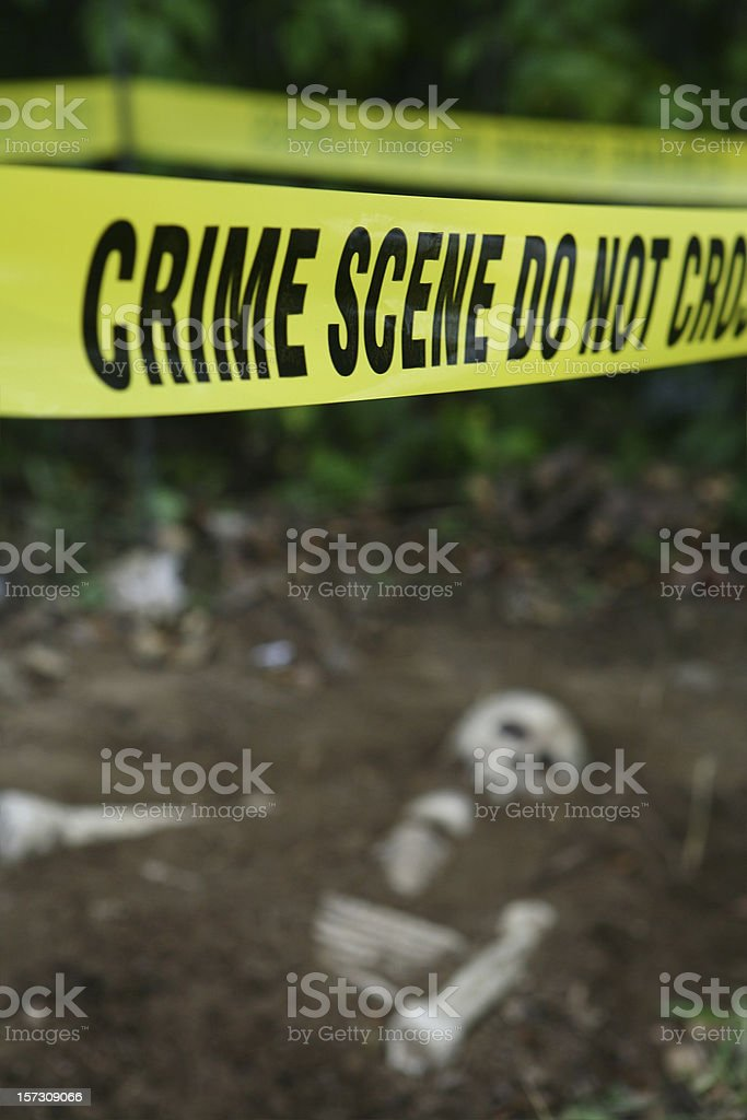 Unsolved Mystery stock photo