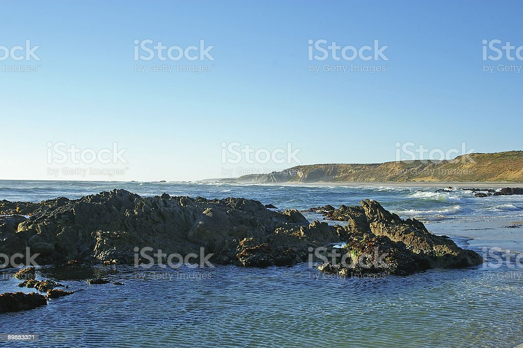 Unspoilt Beach 2 royalty-free stock photo
