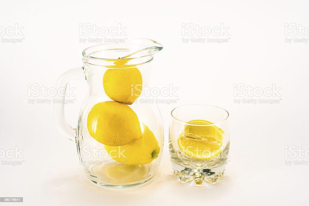 Unsqueezed lemonade royalty-free stock photo