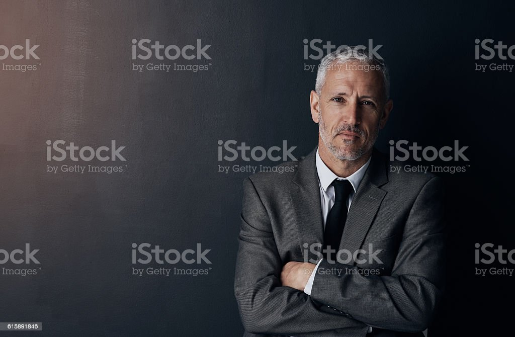 Unstoppable ambition stock photo