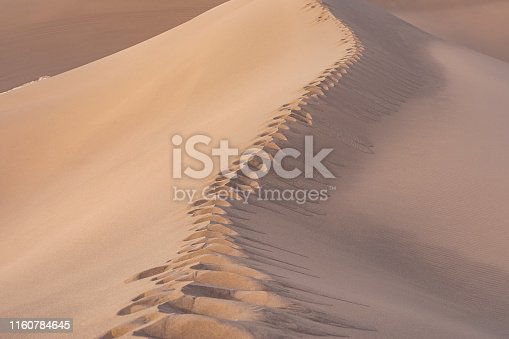 unsurpassed sand dunes in Dasht-e-Lut, Lut desert, the hottest desert in the world, also known as the Kalut Desert