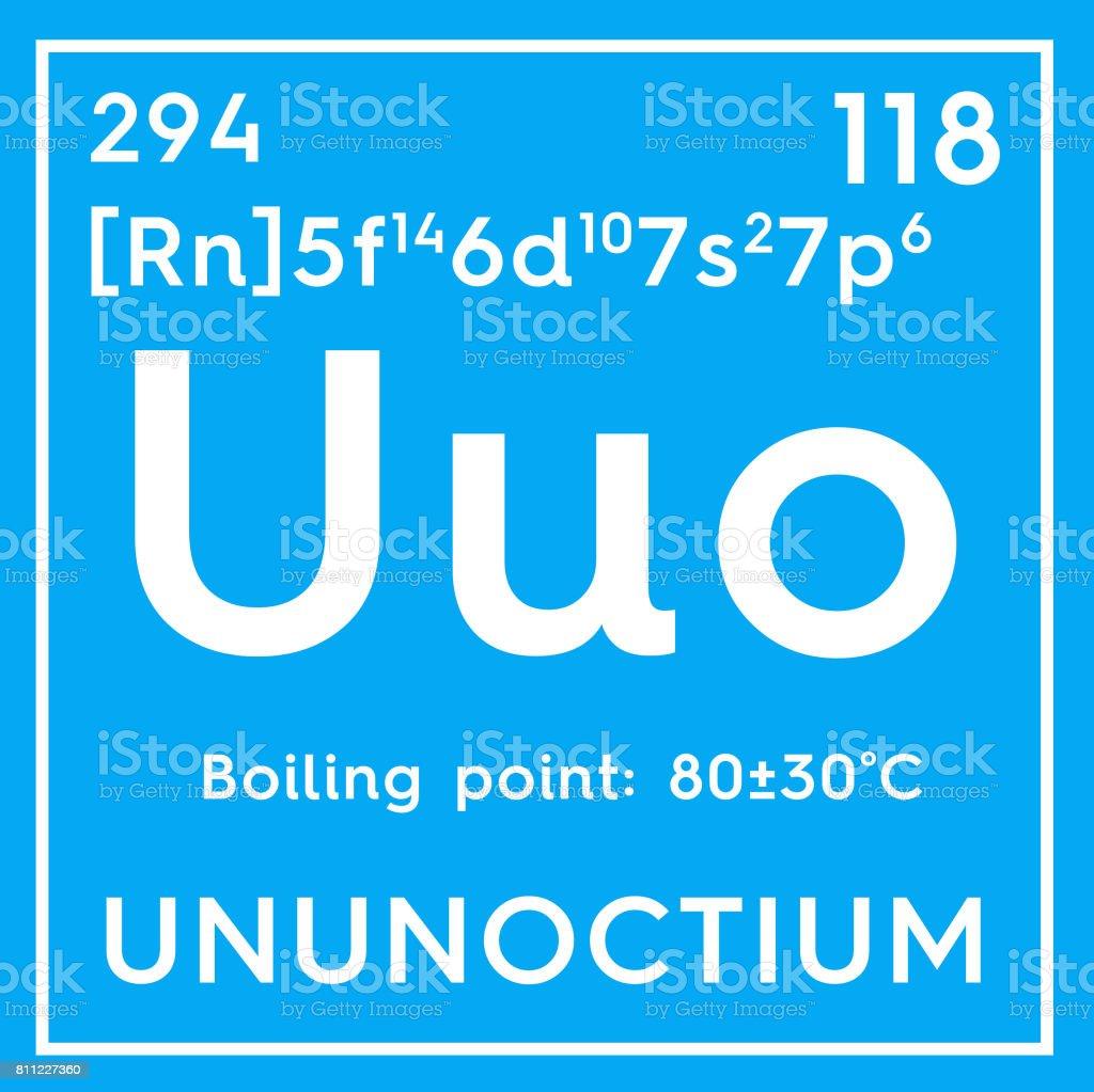 Ununoctium noble gases chemical element of mendeleevs periodic table ununoctium noble gases chemical element of mendeleevs periodic table royalty free stock urtaz Gallery