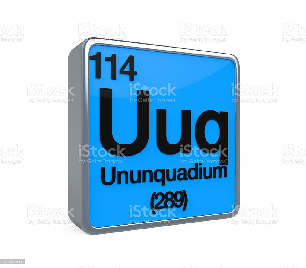 Ununquadium element periodic table stock photo more pictures of ununquadium element periodic table royalty free stock photo urtaz Image collections