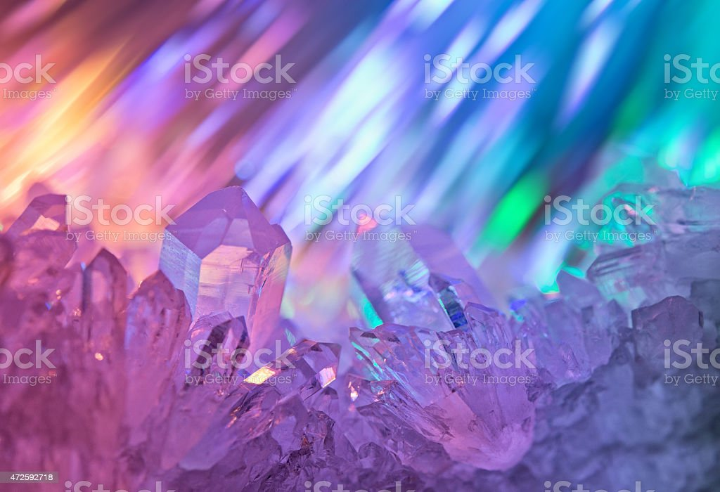 Unusual background with jewels. stock photo