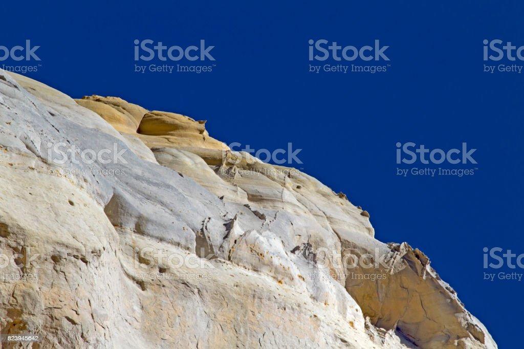 Unusual landscape stock photo