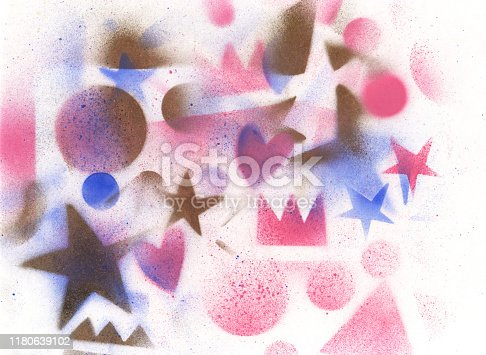 815224118 istock photo unusual space abstract background 1180639102