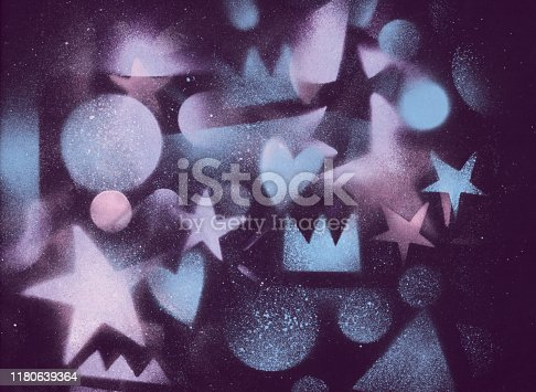 815224118 istock photo unusual space abstract background 1180639364