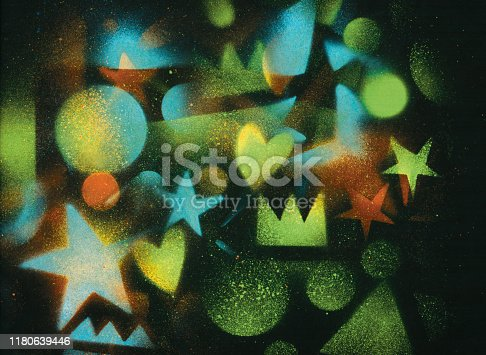 815224118 istock photo unusual space abstract background 1180639446