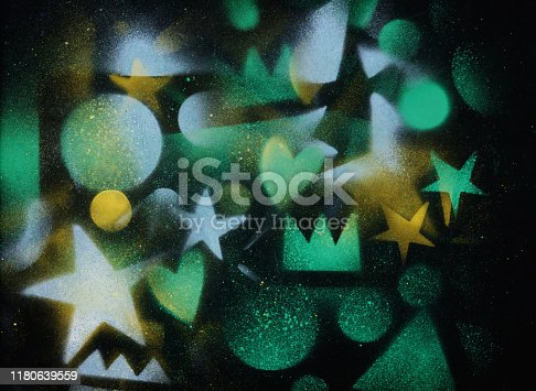 815224118 istock photo unusual space abstract background 1180639559