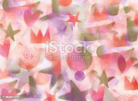 815224118 istock photo unusual space abstract background 1180641722