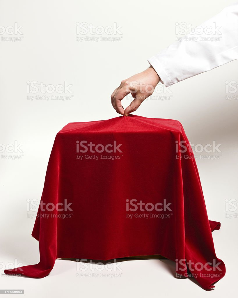 Unveiling new product royalty-free stock photo