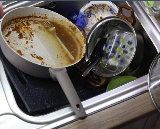 Ongewassen gerechten foto