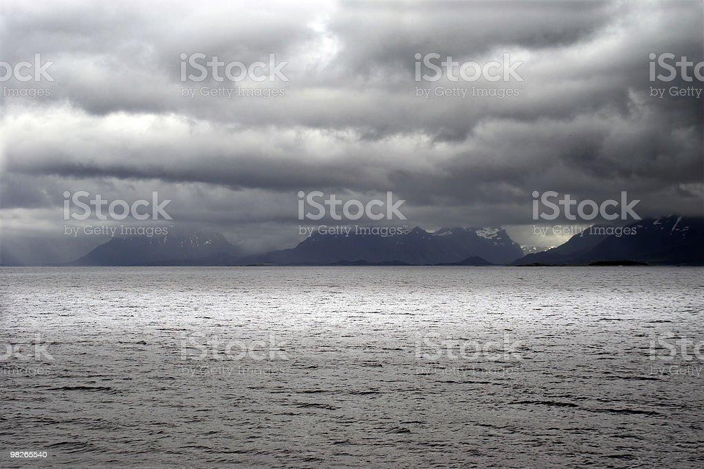 Unwetter royalty-free stock photo