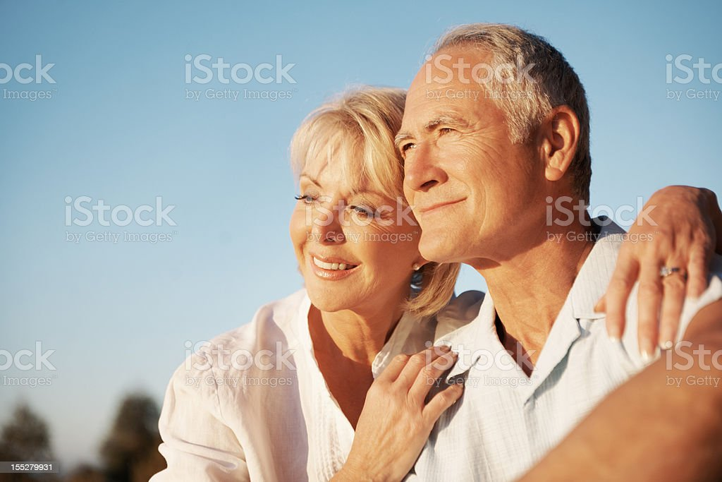Unwinding in the sun together ... royalty-free stock photo