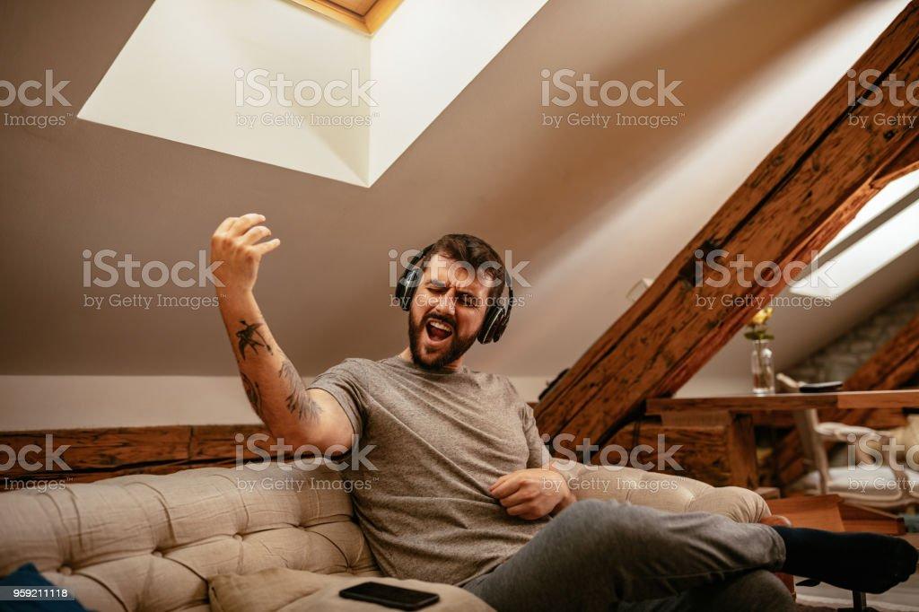 Entspannen mit Musik – Foto