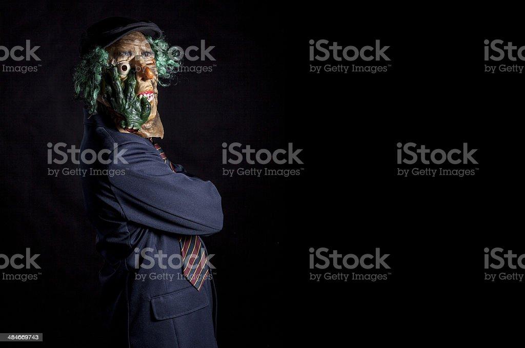 Em maschera Uomo - foto de acervo