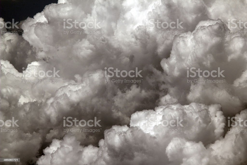 Up Above Clouds royalty-free stock photo