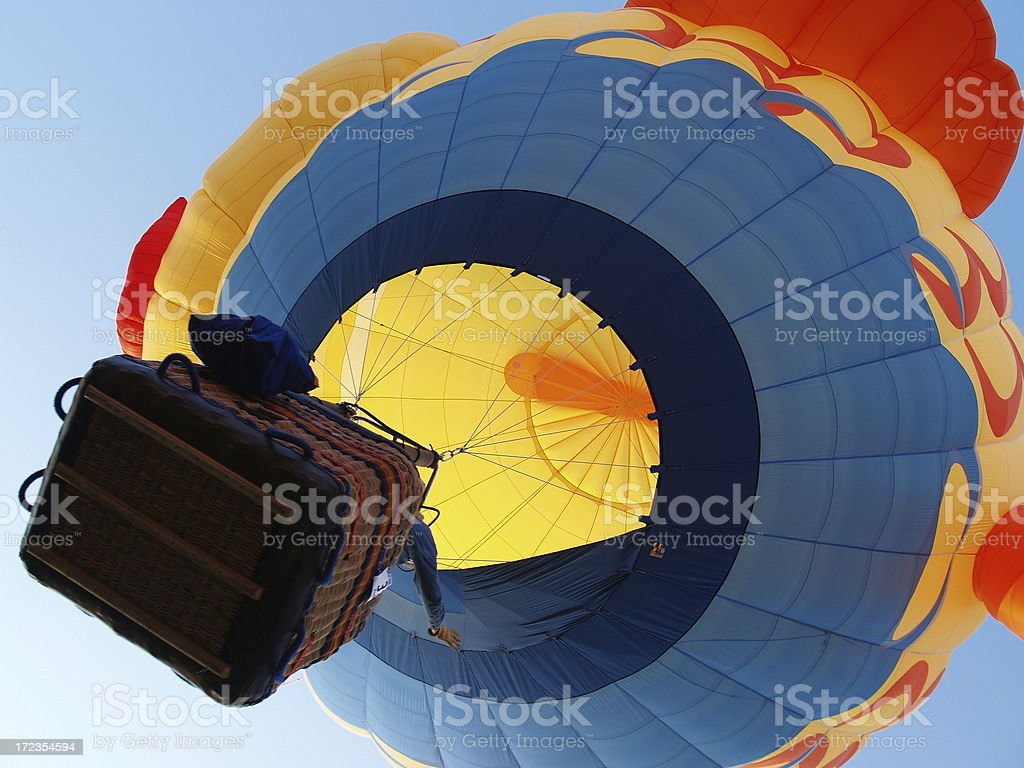 Up and Away royalty-free stock photo