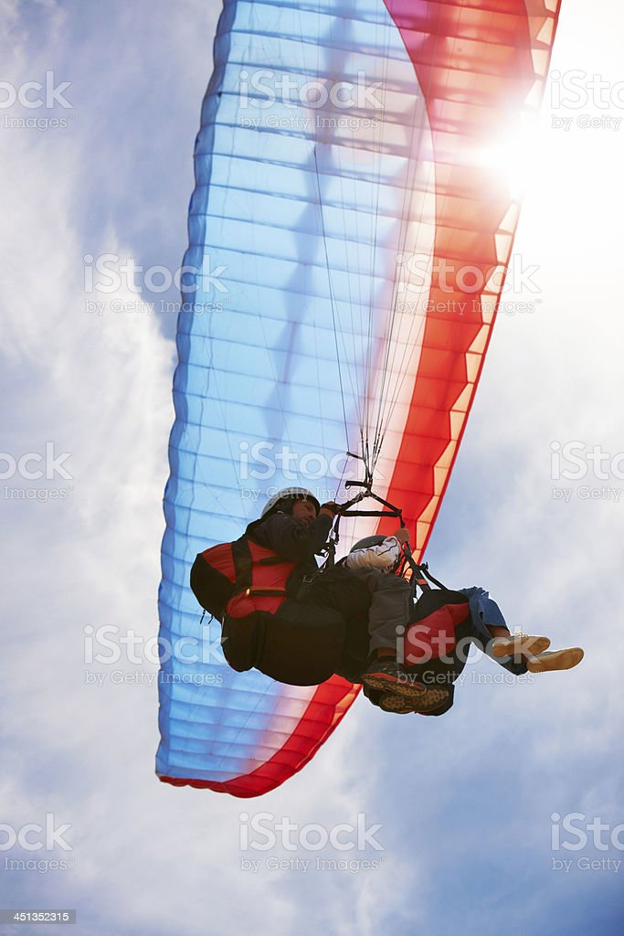 Up and away! royalty-free stock photo