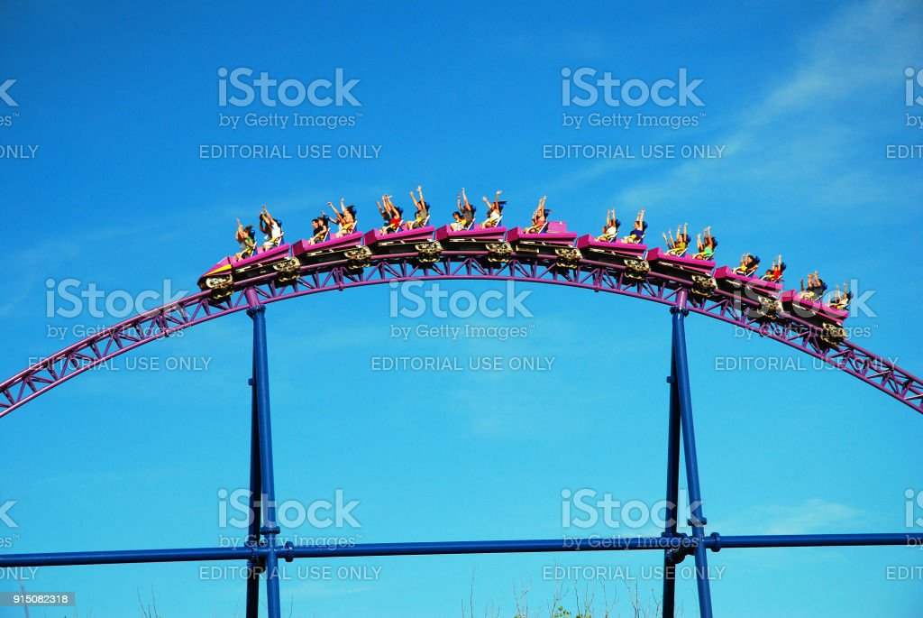 Up and Over stock photo