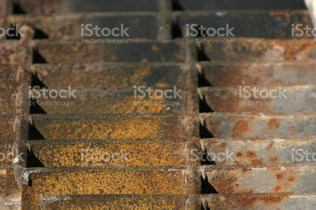 Up Close and Grill - 764 royalty-free stock photo