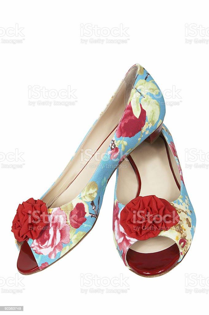 Schöne und neue Schuhe Lizenzfreies stock-foto