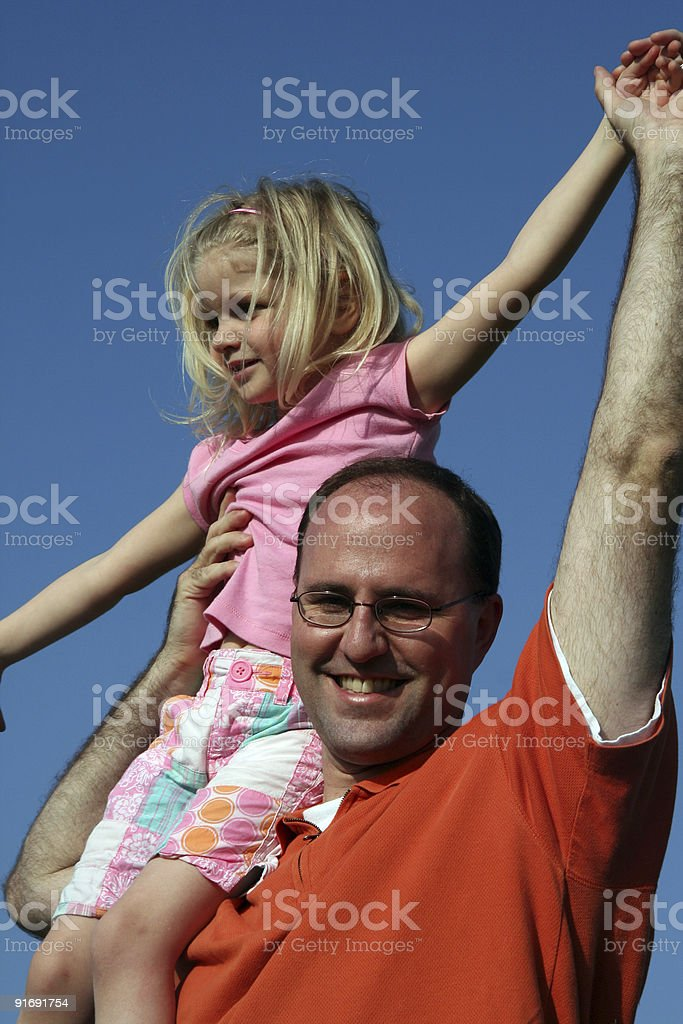 Up high! royalty-free stock photo