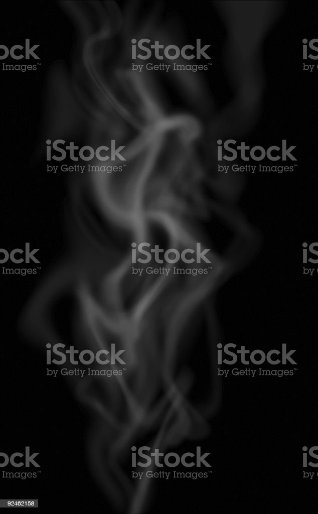 Up in smoke stock photo