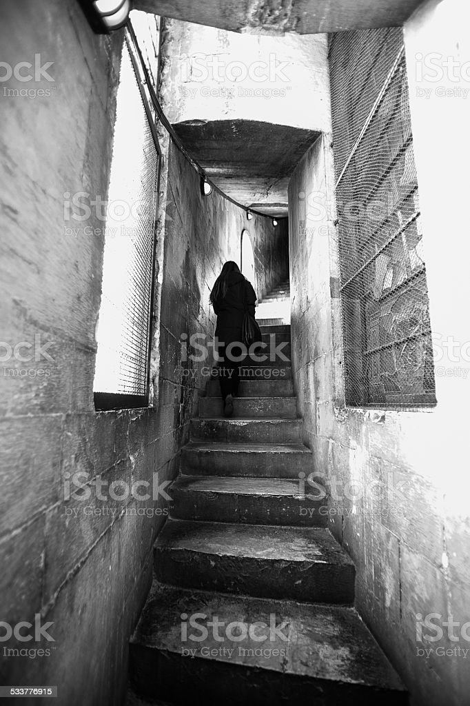 Up in the castle - Royalty-free 2015 Stock Photo