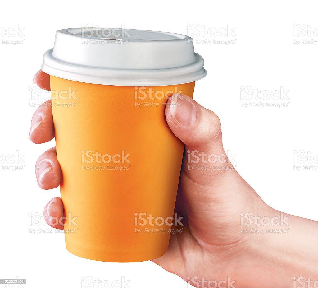 Сup of coffee stock photo
