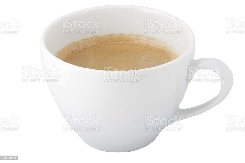 Сup of coffee royalty-free stock photo