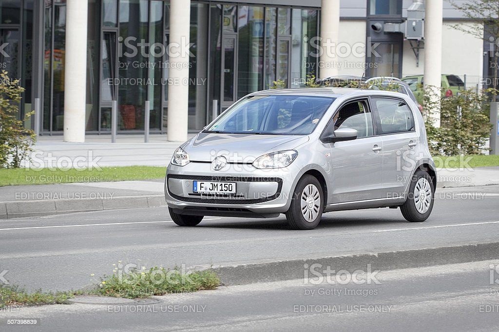VW up! royalty-free stock photo