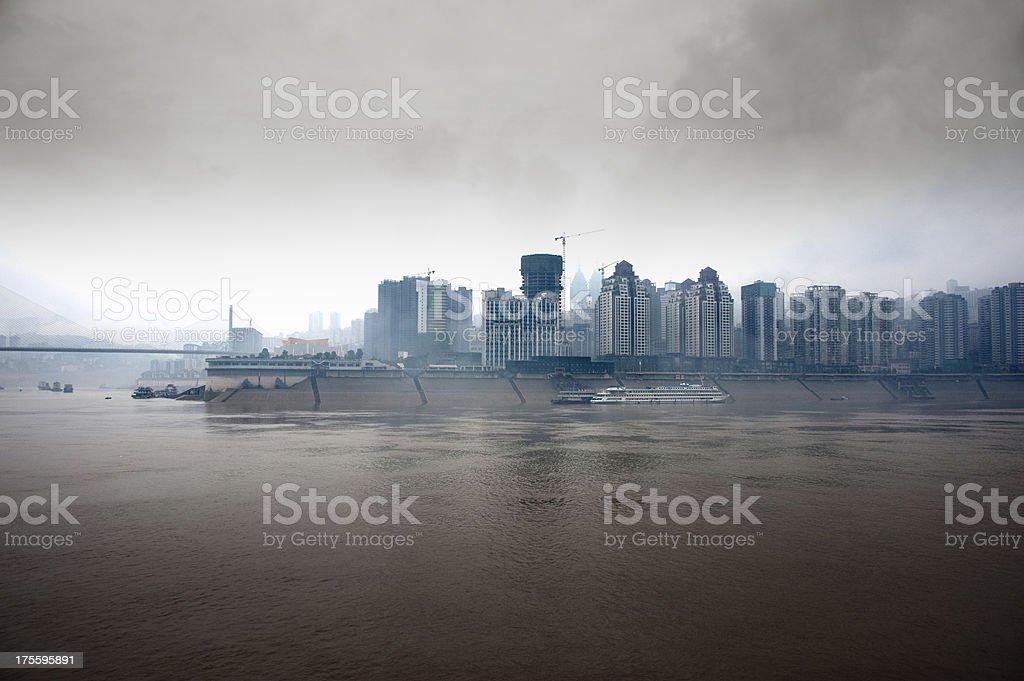 Up Stream the Yangtze River. royalty-free stock photo