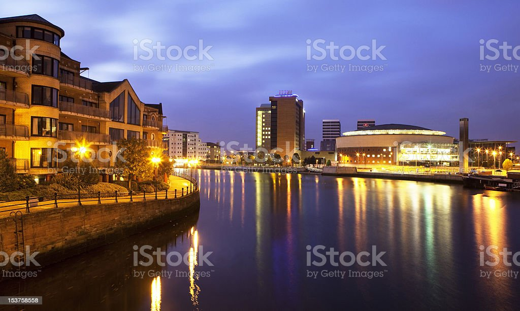 Up the Lagan stock photo