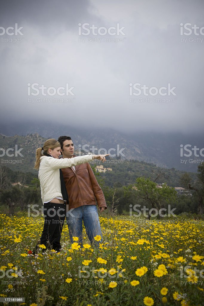 Up there!!!! royalty-free stock photo
