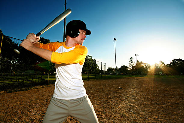 up to bat - spring training stock photos and pictures