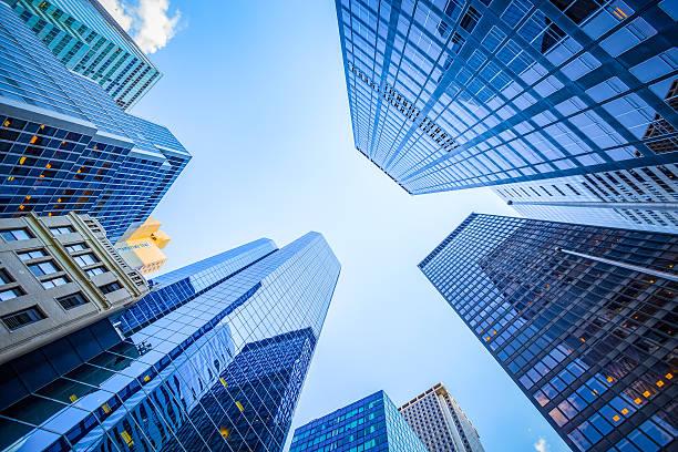 para visualizar no distrito financeiro - arranha céu - fotografias e filmes do acervo