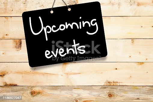 istock Upcoming events concept 1136527047