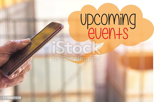 istock Upcoming events 1179865936