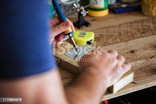 istock Upcycling Unwanted Wood 1173894978