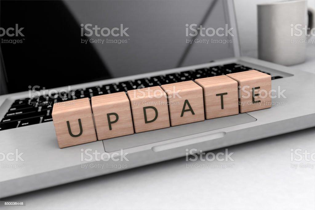 Update stock photo