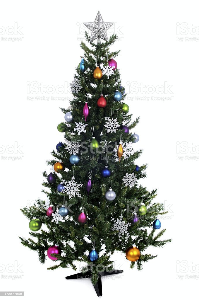 Updated 2008 Christmas Tree! (XL) royalty-free stock photo