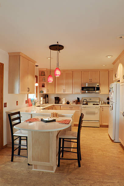 Updated Kitchen Interior stock photo
