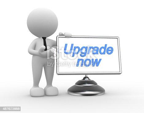 1180722244 istock photo Upgrade now 487623888