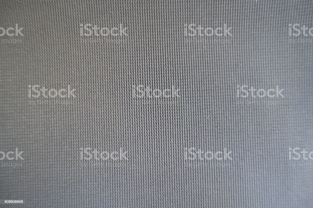 Upholstery texture - simple unprinted grey fabric surface stock photo