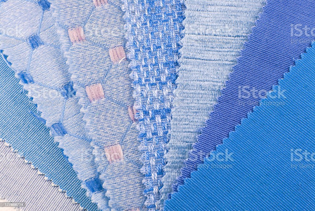 upholstery,curtain and color selection royalty-free stock photo