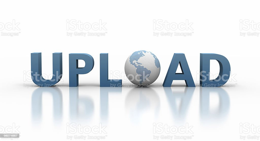 Upload Concept royalty-free stock photo
