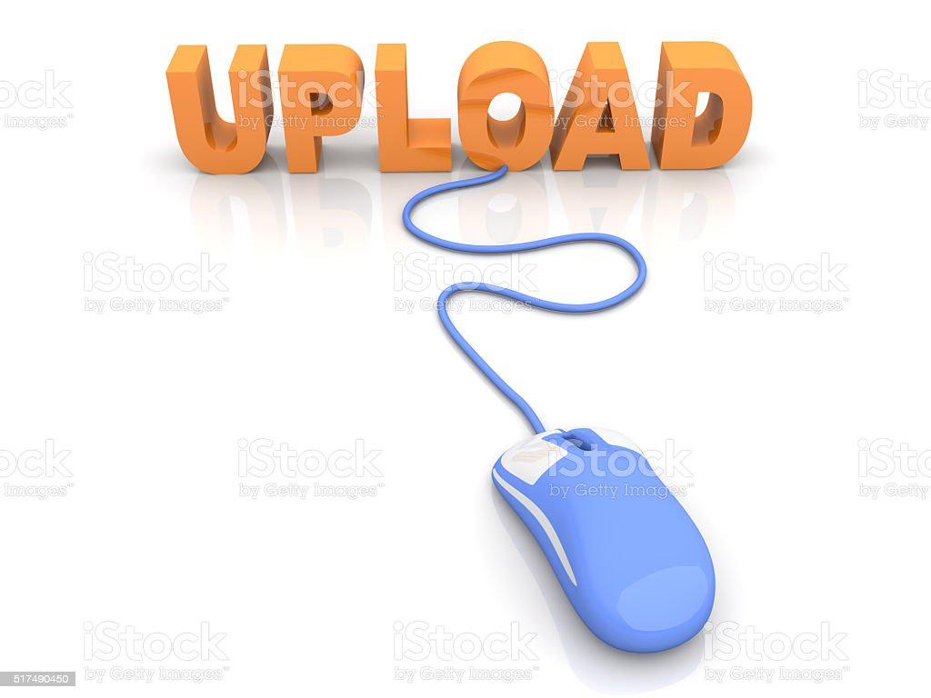 Upload stock photo