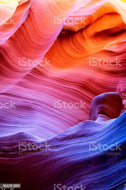 Photo of Upper Antelope Canyon in Arizona, USA